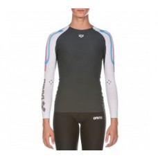 WOMEN'S CARBON COMPRESSION LONG SLEEVE